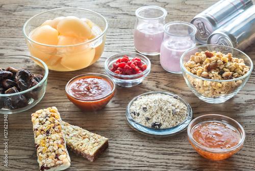 Fotografía  Foods with hidden sugar