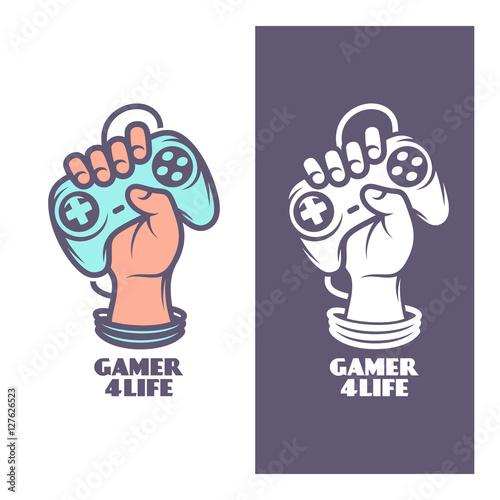 Gamer for life t-shirt design Poster