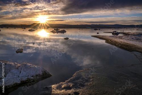 Fotografie, Tablou  Sunrise, Mono Lake