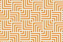 Orange Geometric Pattern Backg...