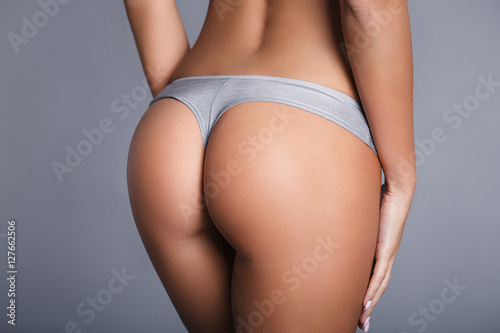 Cadres-photo bureau Ane Perfect girl ass in a gray panties