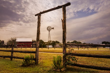 Windmill At The Ranch