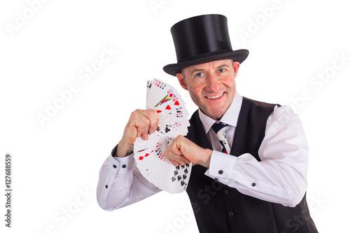 Valokuva  Kartenspieler