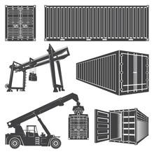 Container Loader Gantry Crane.
