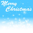 Marry christmas on winter bacground
