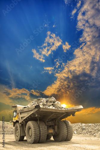 Fotografie, Tablou  Heavy mining truck
