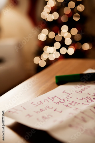 Handwritten letter to santa buy this stock photo and explore handwritten letter to santa spiritdancerdesigns Gallery