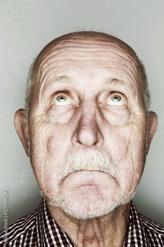 Photo  Senior, Kopf, Portrait