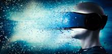 Into Virtual Reality World. Ma...