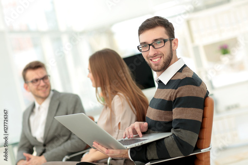 Fototapety, obrazy: Business Team Working Office Worker Concept