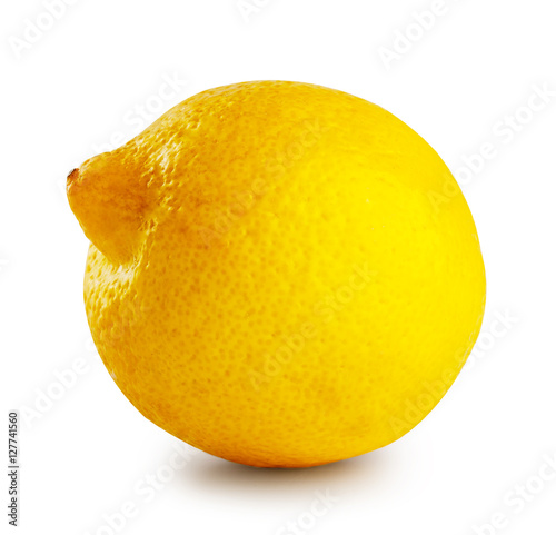 Ripe sour lemon Poster