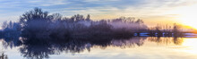 Beautiful Sunset Panorama By T...