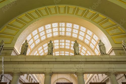Union Station Architecture Interior Washington DC November 2016 Wallpaper Mural