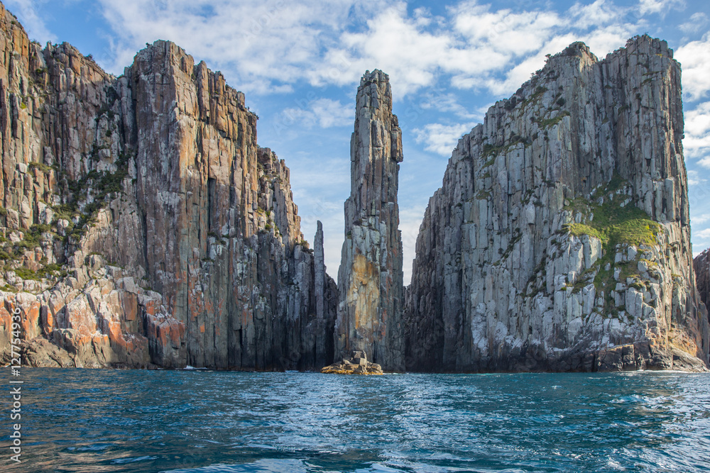 Fototapety, obrazy: Cliffs of Tasmania