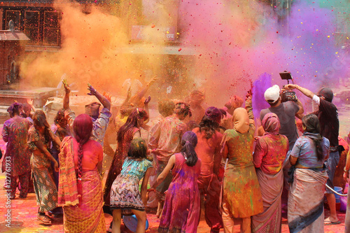 Photographie Holi Festival