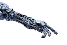 Left Arm Of A Robot Made From ...