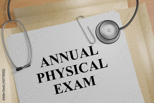 yearly physical exam