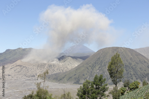 Photo  General landscape around Mt Bromo, Indonesia