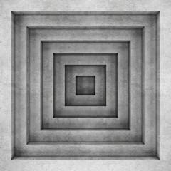 Fototapeta Geometric concrete background. 3D rendering
