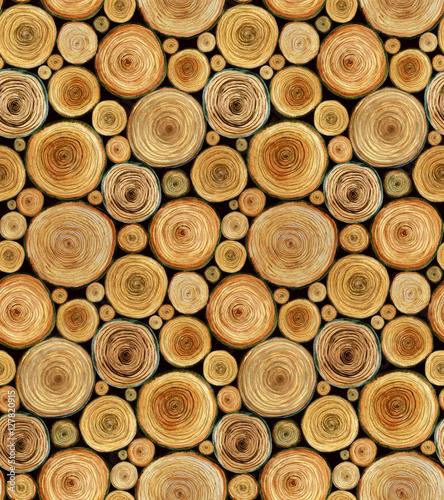 drewniane-klody-ciete