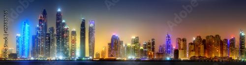 Zdjęcie XXL Dubai Marina bay, Zjednoczone Emiraty Arabskie