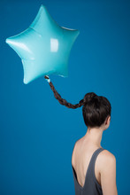 Star Shaped Balloon Attached To Braid