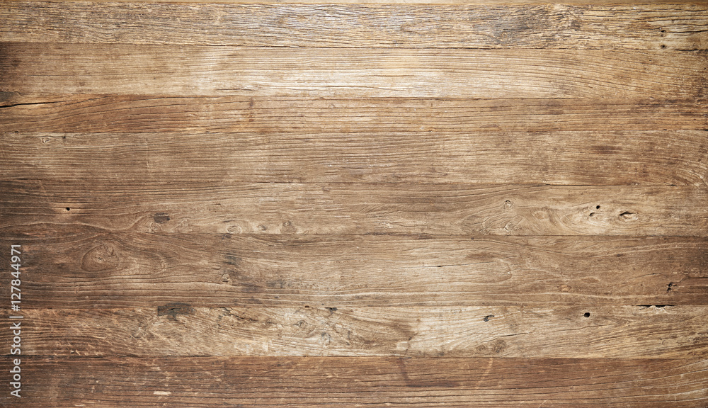 Fototapety, obrazy: Vintage worn wooden boards