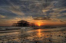 Keep Calm And Enjoy The Sunset In Brighton