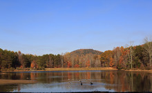 The Lake At Crowders Mountain ...