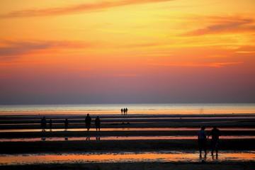 Fototapeta zachód słońca w Cape Cod