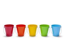 Rainbow Buckets