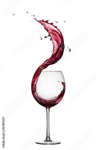 Papiers peints Vin red wine splash
