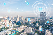 Smart City And Wireless Communication Network, IoT(Internet Of T