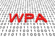 WPA In The Form Of Binary Code...