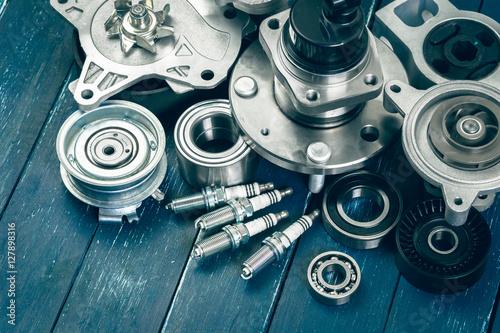 Fotografía  Various car parts