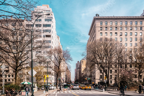 Cuadros en Lienzo Streets and Buildings of Upper East Site of Manhattan, New York
