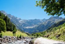 Road To Cirque De Gavarnie, Hautes-Pyrenees, France
