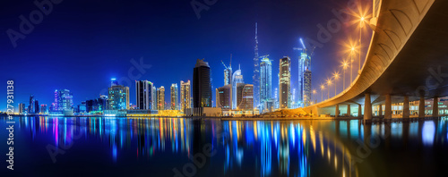 Photo  Business bay of Dubai, UAE