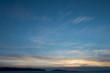 Beautiful winter dawn