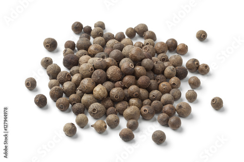 Fototapeta Heap of whole allspice berries obraz