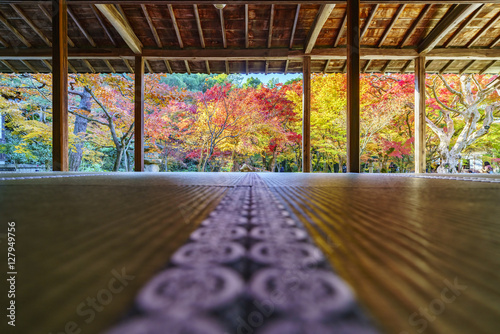Spoed Foto op Canvas Kyoto 京都 圓光寺の紅葉 その2
