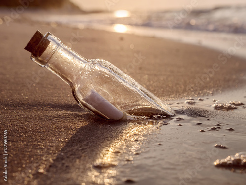 Photo  Message in the bottle