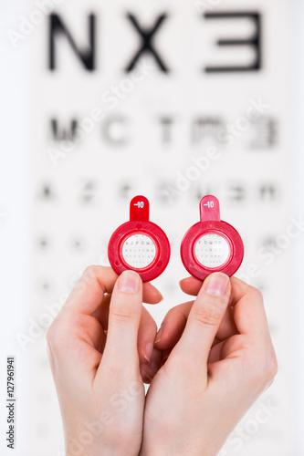 Fotografía  Myopia lenses