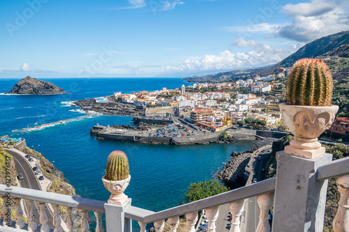 Photo sur Aluminium Iles Canaries Garachico town on the coast of Tenerife
