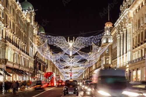 Photo  Christmas lights 2016 in Mayfair, London