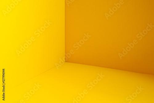 Fotografie, Obraz  Yellow room  corner