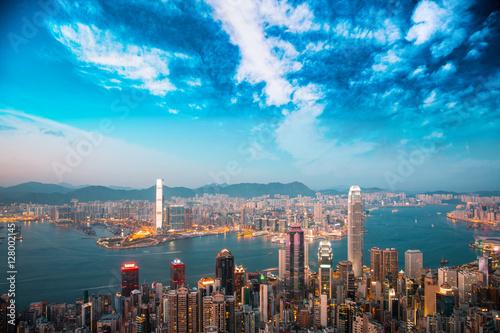 Foto-Rollo - Asian city Hong Kong  (von YiuCheung)