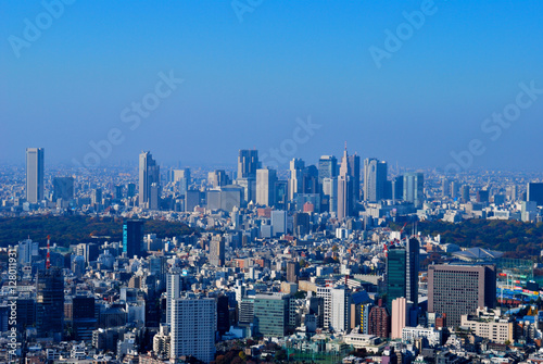 Foto op Canvas Pool 東京の景色