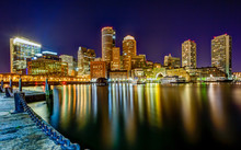 Boston Pier Downtown Skyline N...