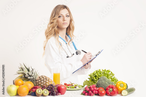 Healthy eating concept Wallpaper Mural